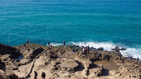 Fishermen in Morocco