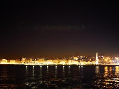 Öinen Tangier mereltä