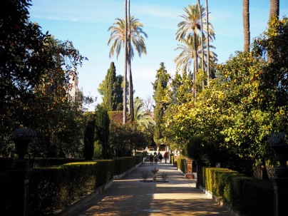 Garden of Real Alcazar