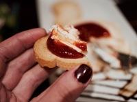 Tostada con queso de cabra
