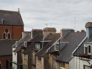 Kattoja Brightonin yllä