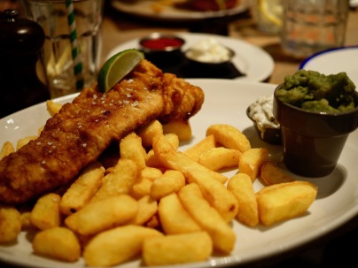 Mainio Fish & Chips.