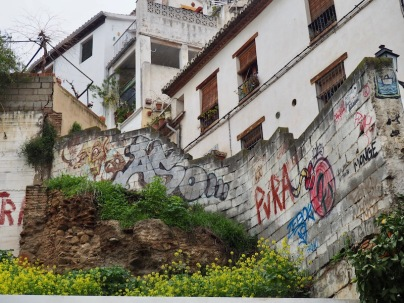 Granadalaista katutaidetta