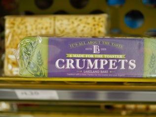 Crumpets-paahtiksia...