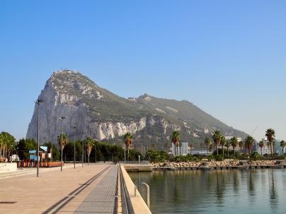 Gibraltar Espanjasta käsin