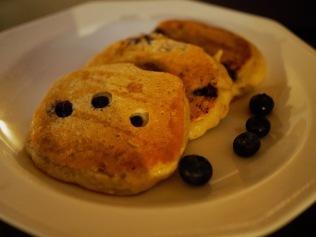 Karhunmarja-mustikka-pancakes