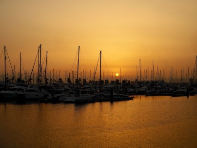Auringonlasku La Líneassa
