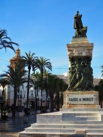Cádiz ja patsas