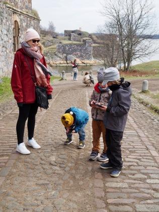 Lapsetkin arvostaa maisemia