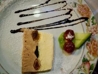 Jälkiruoka ravintola Régulossa