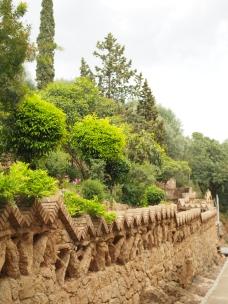 Gaudin puisto Barcelonassa