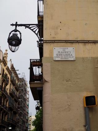 Barcelonan katuja