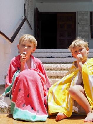 Kesän pääravintoaine: jäätelö