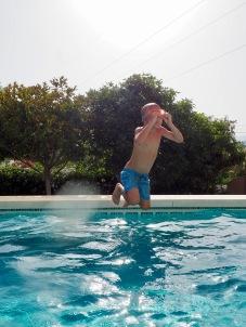 Uimahyppyharjoitukset