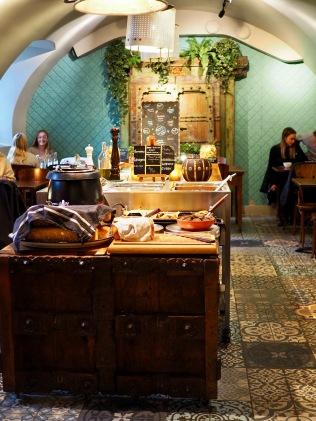 Herman's kasvisbuffet